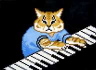 """Keyboard cat"", автор Жужицкий Галлет"