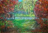"""""""Осенний парк"""", автор Маркелова Мария"""