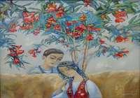 """""""Цветок граната"""", автор Закиров Шакир"""