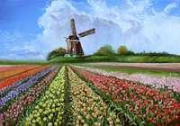 """""""Поле тюльпанов"""", автор Leisan Horvath"""