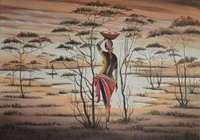 """Africa. Donna 35х55. 2014г"", автор Горбик Александр"
