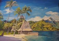 """The beach"", автор Анастасия Фоменко"
