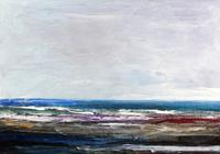 """""""Море, прогулка по побережью"""", автор Ушаков"""