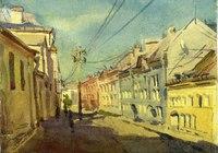 """""""московская улица"""", автор Бромель Анастасия"""