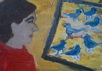 """Птицы"", автор Давыдова Наталия"