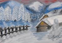 """Winter house"", автор Генади Георгиев"