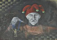 """клоун"", автор Церцвадзе Лаша"
