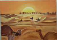 """""""Desert"""", автор Икрамова Диана"""