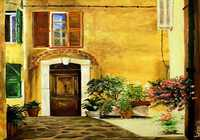 """Старая дверь где-то на юге"", автор Leisan Horvath"