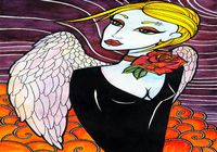 """Dark Angel"", автор Лавинская Дарья"