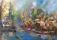 """У реки"", автор Nalbandyan Garry"