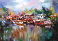 """""""У озера"""", автор Nalbandyan Garry"""