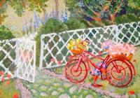 """Весенний велосипед"", автор Щербина Алена"
