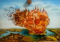 """""""Город,в котором собираются мечты."""", автор Ягодина Анжелика"""