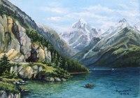 """""""Река маленького человека """", автор Егор Мунш"""