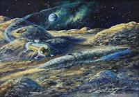 """""""Луна.Гость из Галактики."""", автор Филиппский Виктор"""