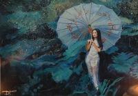 """Японка в саду"", автор Диана тришкина"
