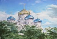 """церковь,г.Лиски"", автор Трубчанинов Алексей"