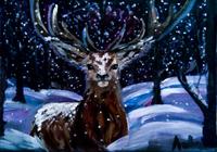 """снегопад"", автор Ловас Алина"