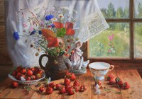 """""""Лето на столе."""", автор Жданова Елена"""