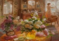 """""""Утро на даче."""", автор Жданова Елена"""