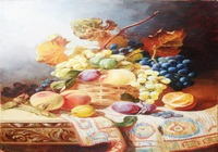 """Корзина с фруктами"", автор Таратун Елена"