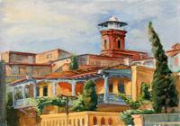 """""""Тбилиси. Мечеть."""", автор Калаева Ксения"""
