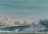 """""""Зимнее озеро."""", автор Алексей"""