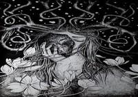 """Девушка с оленьими рогами"", автор Alice Skolkova"