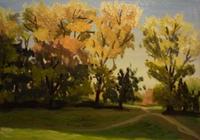 """""""Коломенское. Осенние деревья"""", автор Маликова Ксения"""