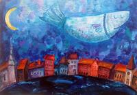 """""""Рыба над городом"""", автор Лурье Элеонора"""