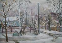 """Мокрый снег"", автор Галахова Елена"