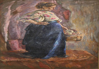 """""""Женщина с яблоками"""", автор Соколова Ольга"""