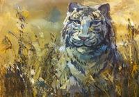 """""""Белый тигр"""", автор Карцева Анастасия"""