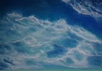 """""""Море... Безмятежность.  Пастель,  А4."""", автор Лия Чащина"""