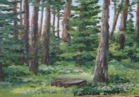 """""""в лесу"""", автор Киселева Елена"""