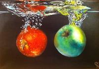 """""""Натюрморт с яблоками."""", автор Sergey"""