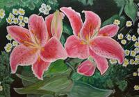 """""""Цветы лилии."""", автор Sergey"""