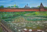 """Вид на Спасо-Ефимиев монастырь."", автор Sergey"