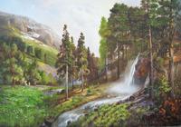 """""""Лес в горах"""", автор Коваль Александр"""