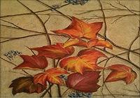 """Осень на песке"", автор Немчинова Наталия"