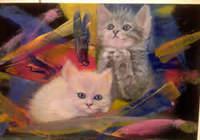 """""""Котята."""", автор ALEKSEEVA IRINA"""