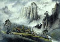 """горы и туман"", автор моссолайнен николай"