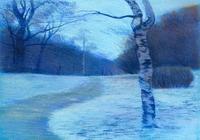 """сумерки зимой"", автор моссолайнен николай"