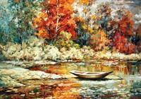"""""""Осень на реке"""", автор Лашин Валерий"""