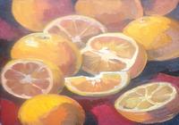"""""""апельсины"""", автор Буртова Мария"""