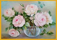 """""""Белые розы"""", автор Костаки Аурелия"""