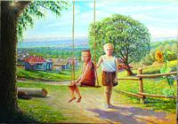 """""""Взгляд из детства"""", автор Блехов Анатолий Анатольевич"""