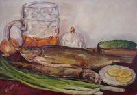 """натюрморт с рыбой"", автор yurich"