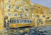 """Tram in Moscow"", автор Zhanna Chirkova"